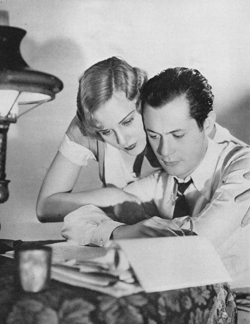 Madge Evans and Robert Montgomery in Lovers Courageous (500x649, 86Kb)