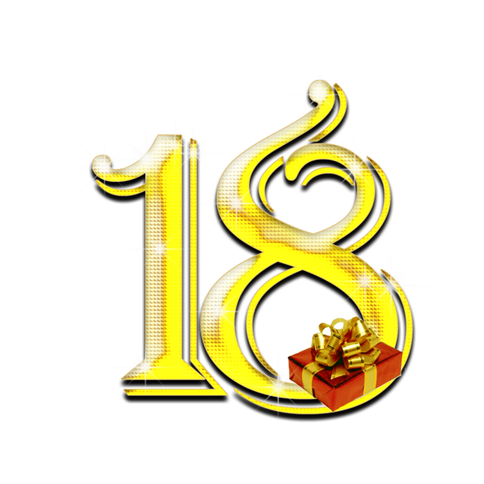 Поздравление с днем рождения цифрами