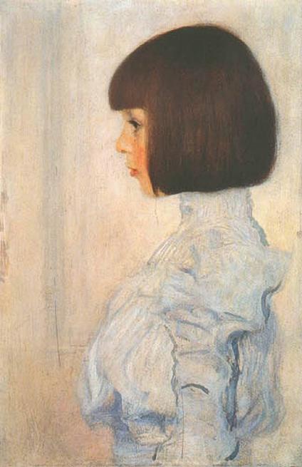Helene Klimt (Gustav Klimt, 1898) (424x655, 199Kb)