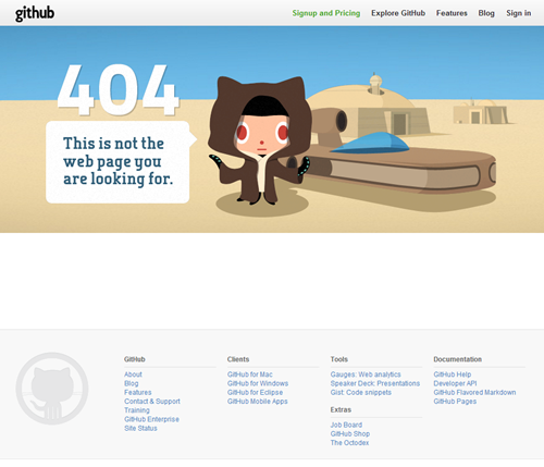 Более 60 действительно крутых и креативных страниц ошибки 404 Фотографии