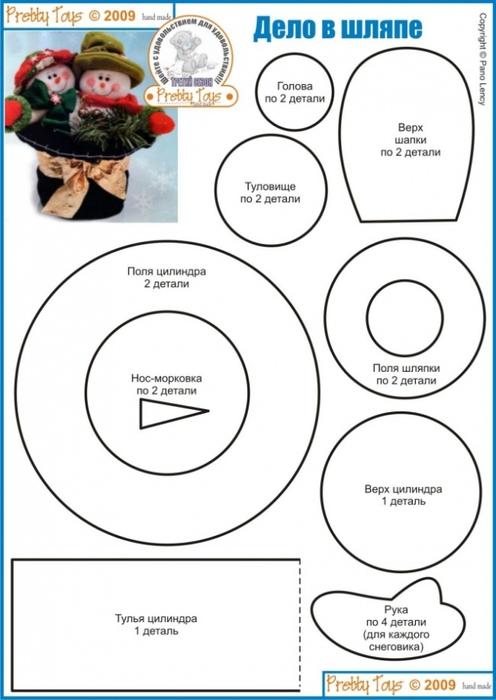 Как из бумаги сделать шляпу для игрушки