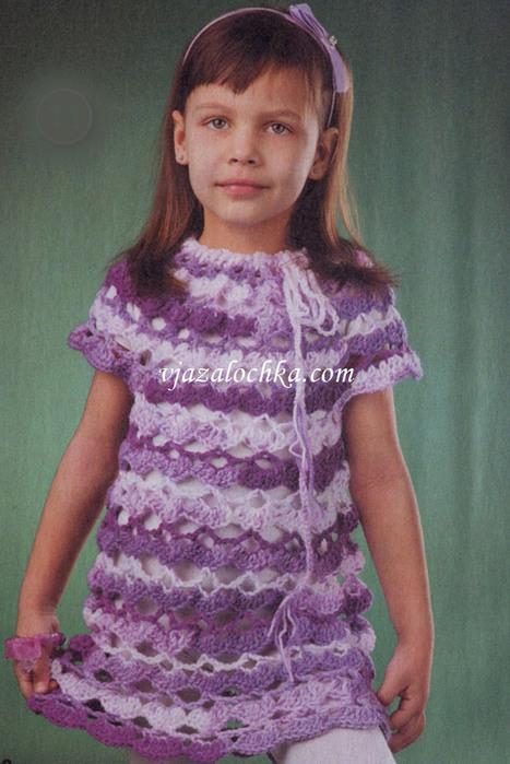 Вязание крючком для девочек 9 лет 51