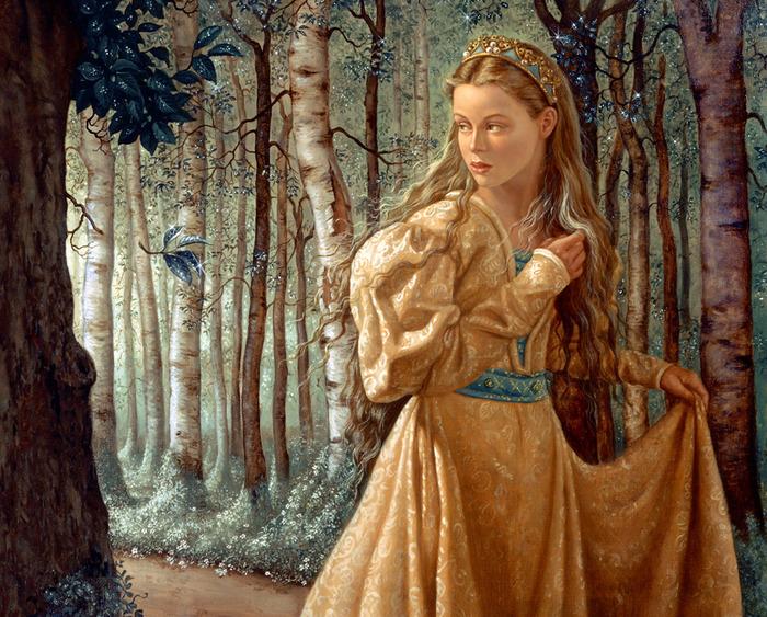 """К сожалению, я нашла совсем мало ее иллюстраций к этой сказке, но они прекрасны.   """"Красавица и чудовище """"."""