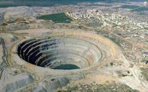 Кимберлитовая трубка- добыча алмазов (300x186, 12Kb)