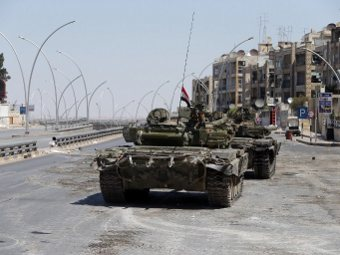 Сирийские танки на Голанских высотах (340x255, 20Kb)
