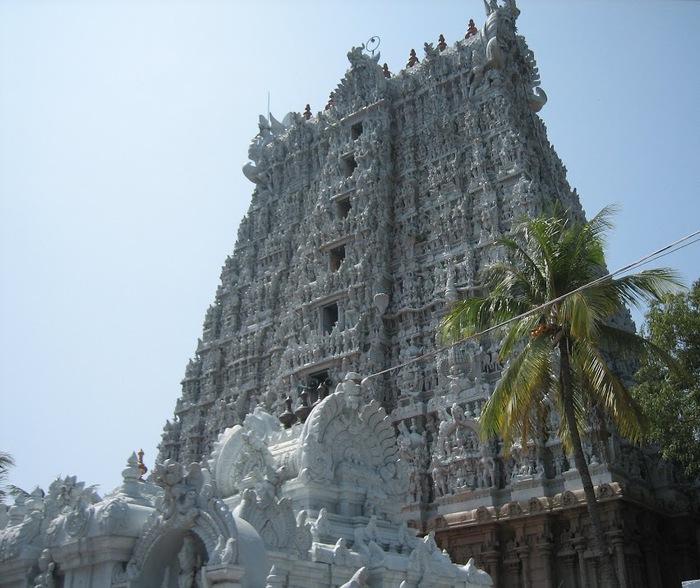 Сучиндрам (Suchindram temple) – храм всех Учителей. 35087