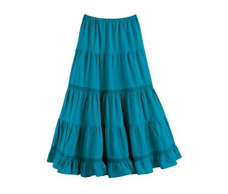Как сшить юбку полусолнце на резинке