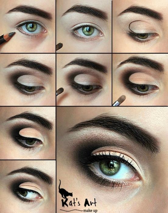 идеи для макияжа глаз