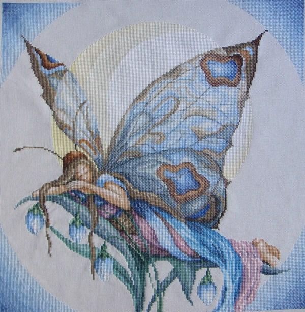 Бабочка-ночь(вышивка крестом