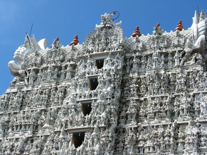 Сучиндрам (Suchindram temple) – храм всех Учителей. 31304
