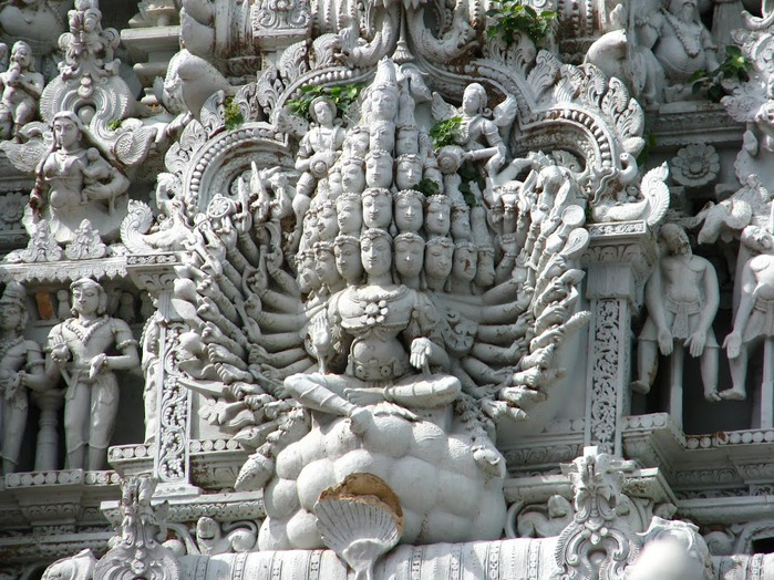 Сучиндрам (Suchindram temple) – храм всех Учителей. 59281