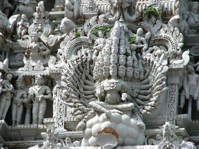 Сучиндрам (Suchindram temple) – храм всех Учителей. 75752