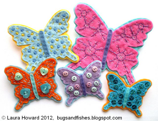 felt butterfly brooches 1 (640x492, 82Kb)