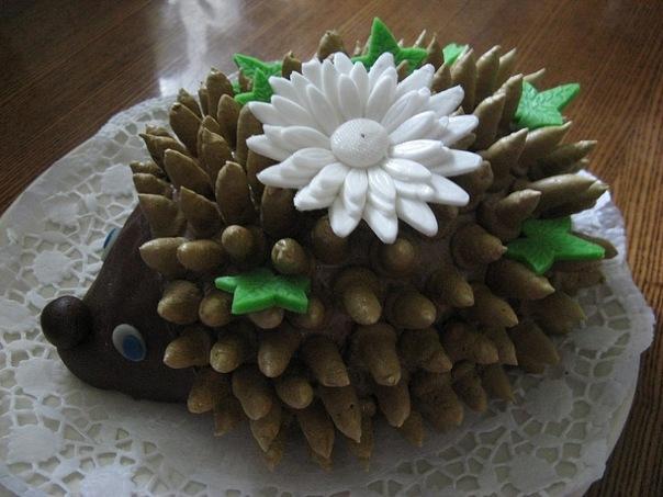 Ежик торт своими руками