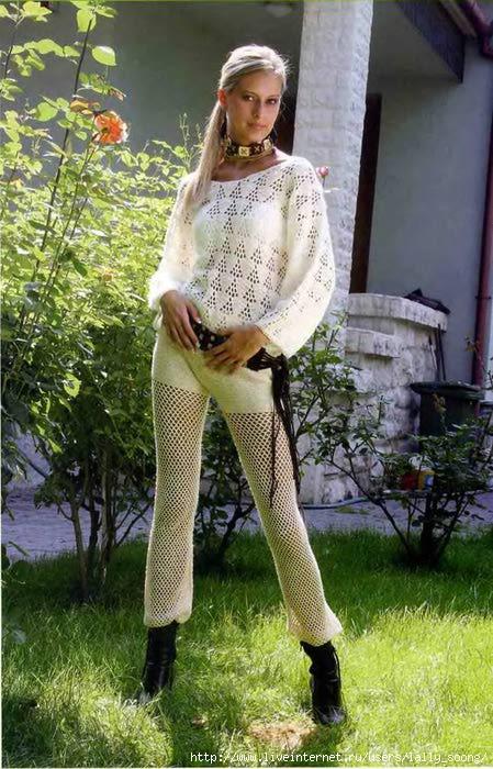 брюк, шорт - схемы вязания