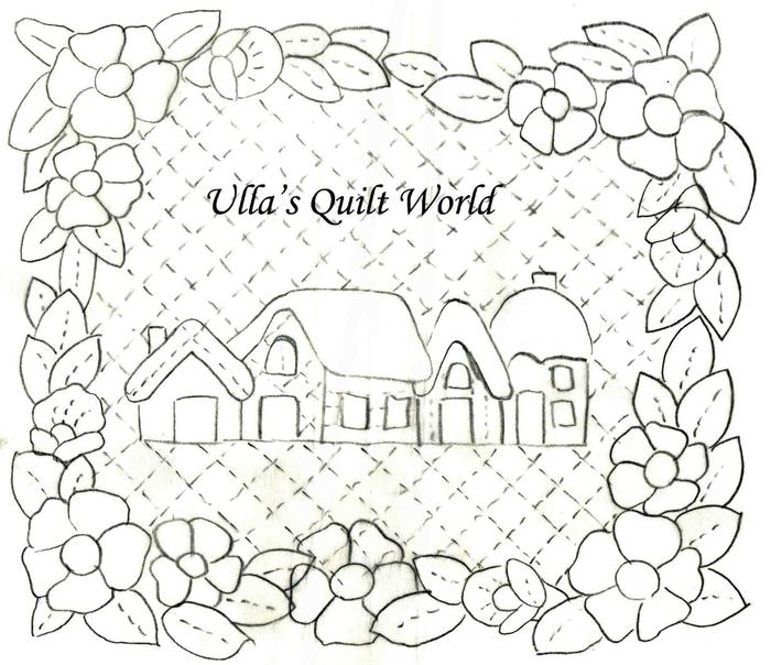 Точечная роспись для начинающих.  Деревья сирень из бисера.  По материалам сайта quiltworld2.blogspot.com.