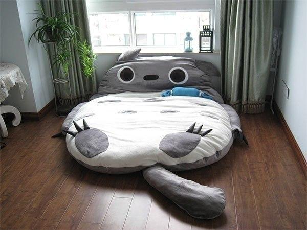 Необычная кровать, кровати на полу (600x450, 54Kb)