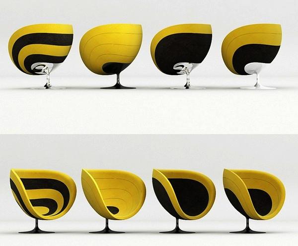 красивое дизайнерское кресло фото (600x495, 62Kb)