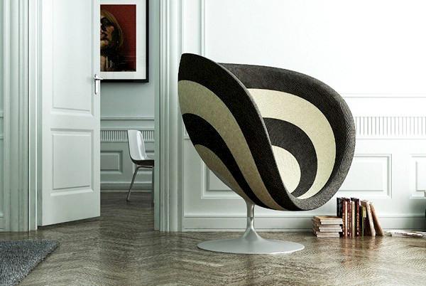 красивое дизайнерское кресло фото 4 (600x402, 84Kb)