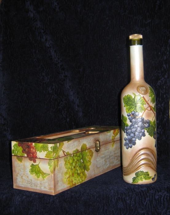 вино в подарок (553x700, 282Kb)