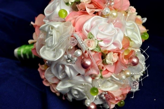 Как сделать букеты невесты своими руками