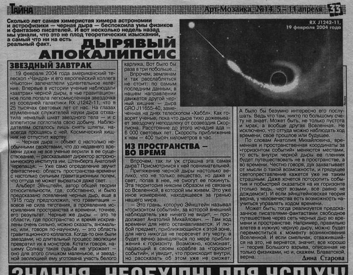 Черная дыра (700x546, 112Kb)