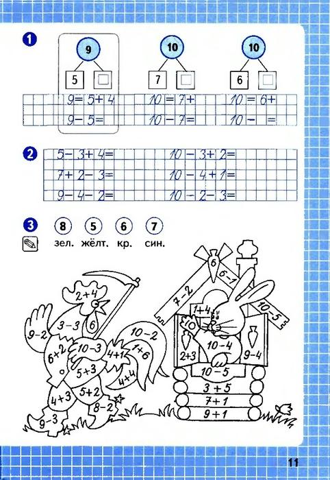 Как сделать домашнее задание по математике рабочая тетрадь 3 класс 1 часть