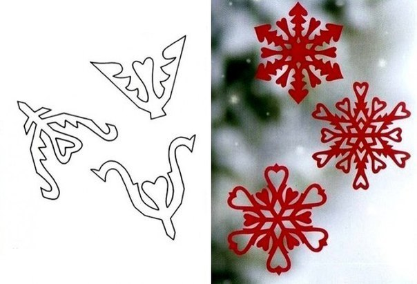 Украшения из бумаги снежинки на новый год своими руками