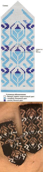 схема к варежкам (175x700, 57Kb)