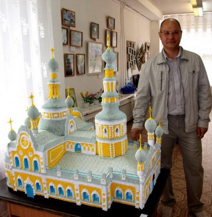 Оригами соборы Сергея Тарасова