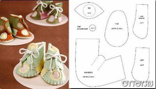 Обувь для куклы своими руками