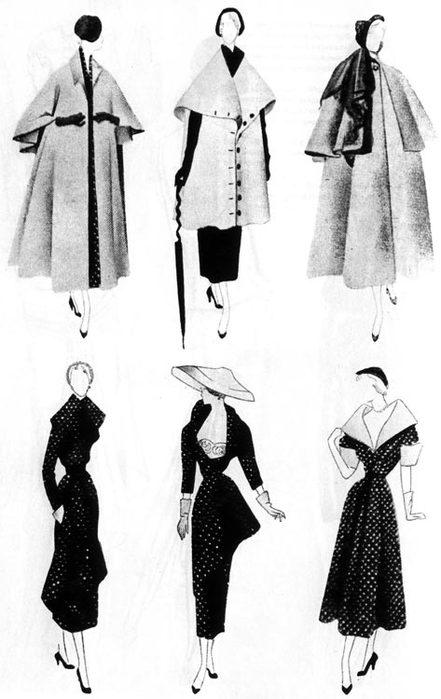 b выкройка платья в стиле ретро с пышной юбкой - Стиль жизни.