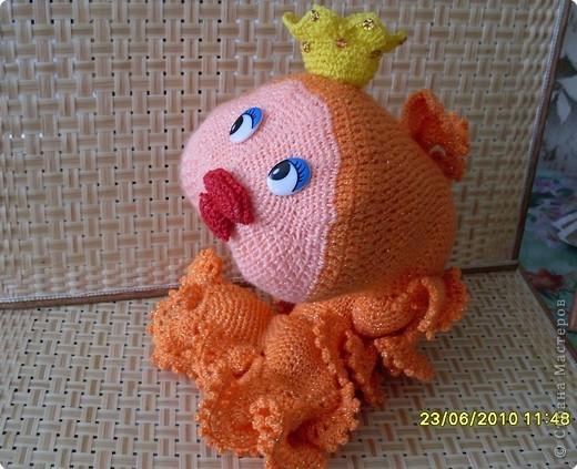 Платье Крючком Золотая Рыбка