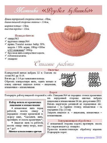 Вязание на спицах шапки английской резинкой