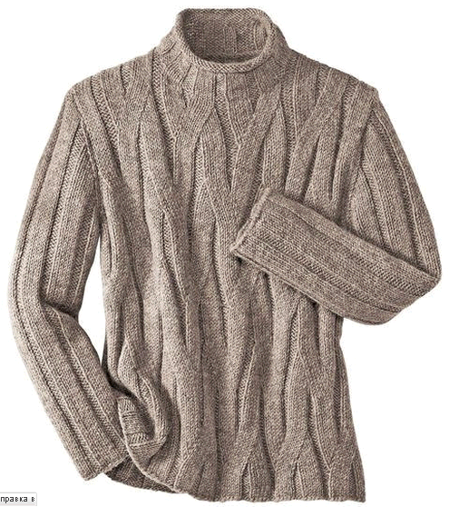 Мужской свитер вязаный спицами/4683827_20121108_194401 (495x558, 228Kb)