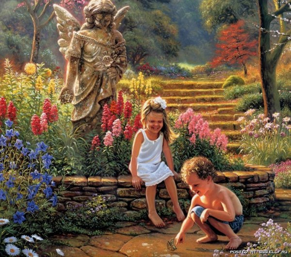 детские образы в живописи:
