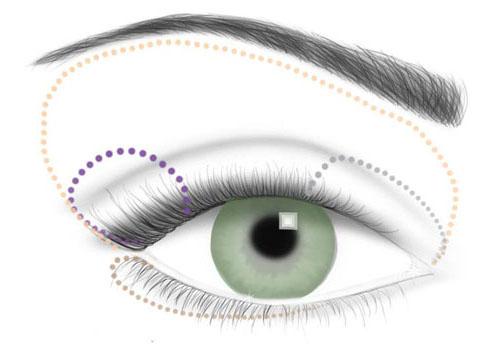 Дневной макияж для зеленых глаз * Нанесите нежно-персиковые тени на все верхнее веко. * Высветлите внутреннюю треть...