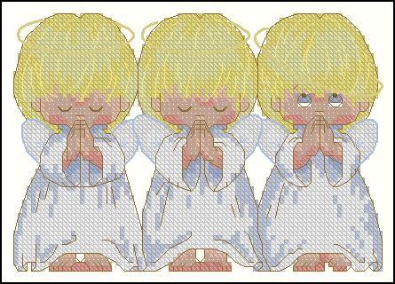 Часть 11 - Ангелочки. Схемы