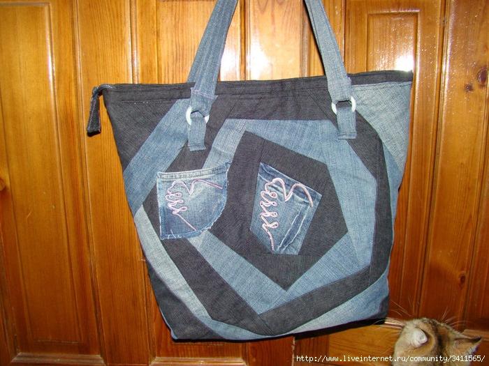 модная сумка в технике макраме