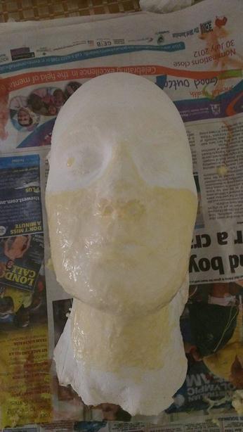 Как сделать ужасную «маску зомби»