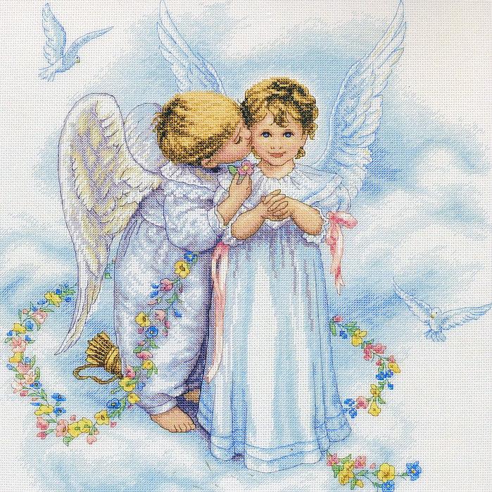 Рубрики: ВЫШИВКА/Ангелы