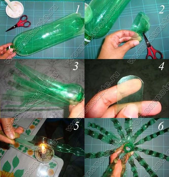 Как сделать паука из пластиковых бутылок поэтапно - Zdravie-info.ru