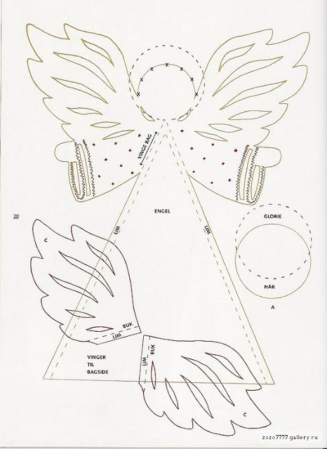 Объемный ангел из бумаги мастер класс