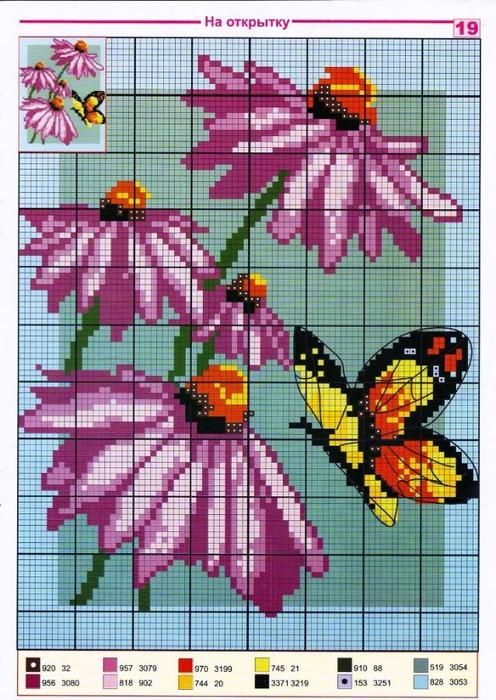 Схем для вышивки крестом с фотографии
