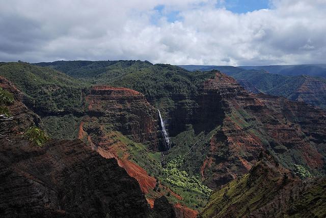 Каньон Ваймеа гавайские острова фото 3 (640x428, 116Kb)