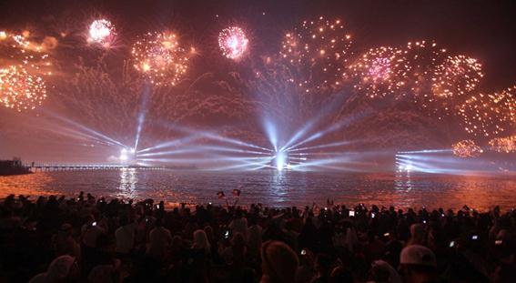 Фотографии. Самый большой в мире праздничный салют в Кувейте попал в Книгу рекордов Гиннесса