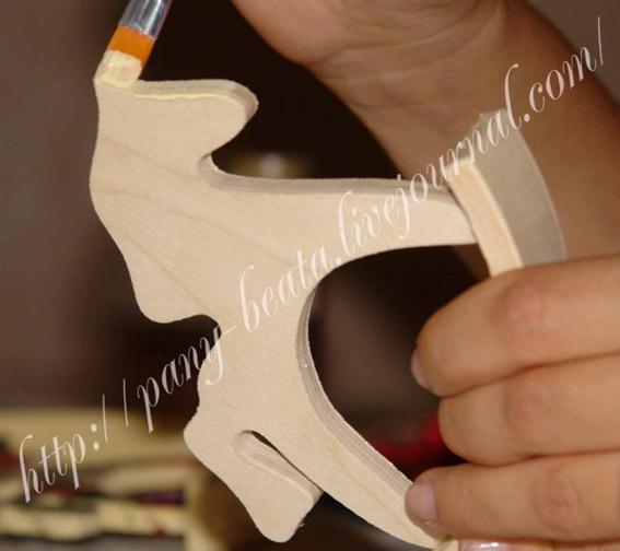 Мастера рукоделия - рукоделие для дома. Бесплатные мастер-классы, фото и видео уроки - Мастер-класс по декупажу на дереве: Новог
