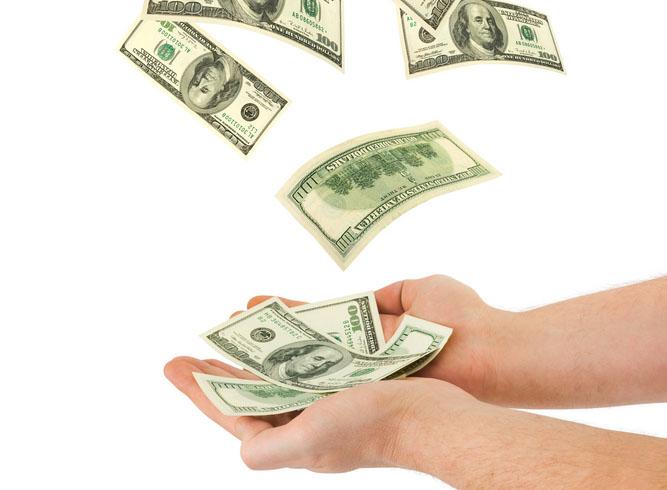 Рисунки на деньги и богатство