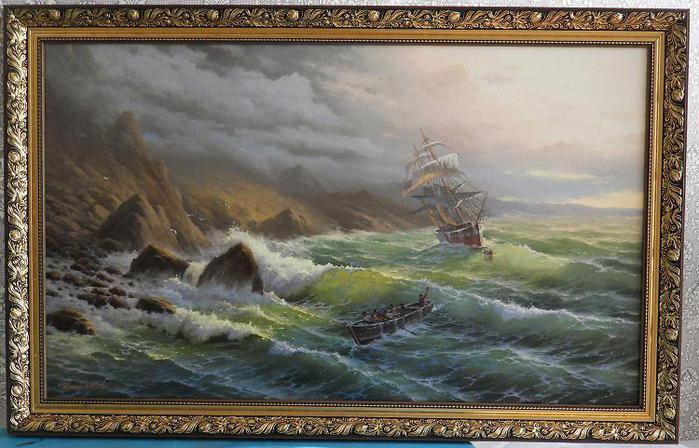 Морские пейзажи художник ильин