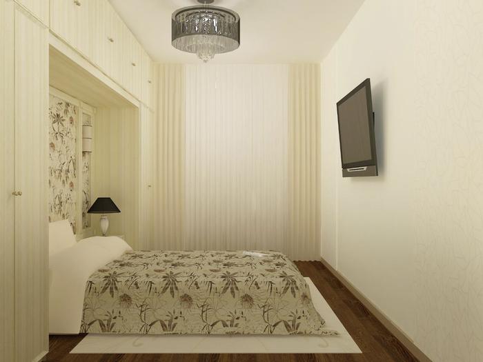 Маленькая спальня дизайн 10 кв.м